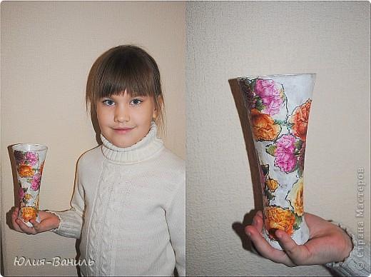 Вазочки для весенних цветов фото 1