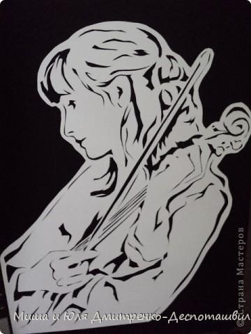 Скрипачка фото 1