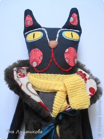 """Подобную кошку я увидела в журнале """"Ручная работа"""", там есть выкройка и подробное описание, решила повторить...и не смогла остановиться) фото 8"""