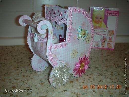 Большое спасибо es-denol за идею. Сделала этот подарок сестренке, у которой родилась доченька. Принесла в роддом - девчонки из других палат ходят смотреть. фото 2