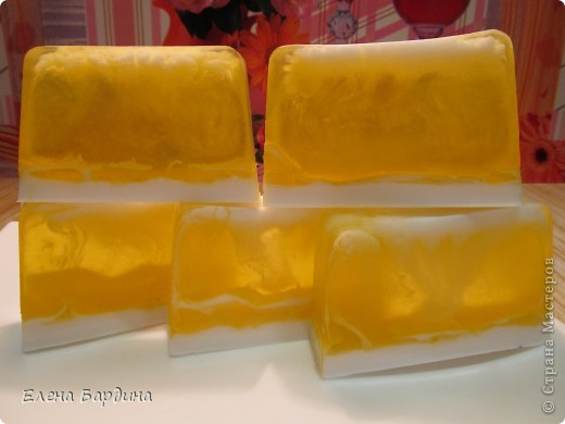 Африканский закат. Мыло с облепиховым маслом. фото 2