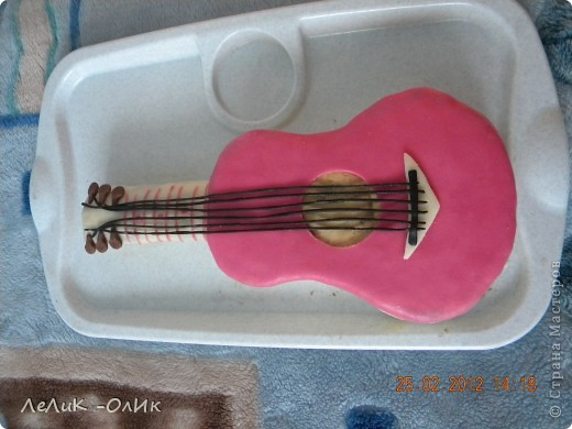 Для любимой доченьки, испекла я такой торт! Вес 4кг. фото 3