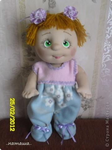 И снова-добрый день или вечер!! Кроме Маняши на этой неделе сделала ещё несколько кукол. Попробую выложить фото.Буду рада, если вам понравятся. фото 3