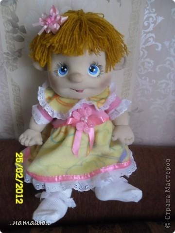И снова-добрый день или вечер!! Кроме Маняши на этой неделе сделала ещё несколько кукол. Попробую выложить фото.Буду рада, если вам понравятся. фото 1