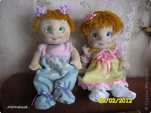 И снова-добрый день или вечер!! Кроме Маняши на этой неделе сделала ещё несколько кукол. Попробую выложить фото.Буду рада, если вам понравятся. фото 8