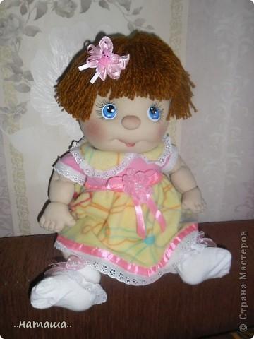 И снова-добрый день или вечер!! Кроме Маняши на этой неделе сделала ещё несколько кукол. Попробую выложить фото.Буду рада, если вам понравятся. фото 6