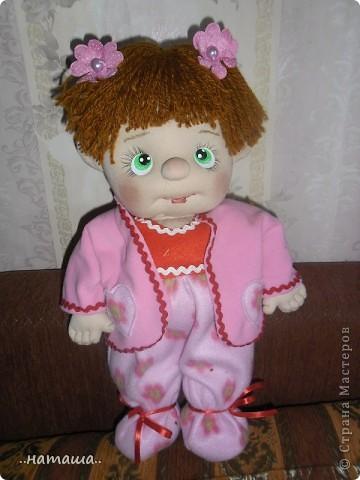 И снова-добрый день или вечер!! Кроме Маняши на этой неделе сделала ещё несколько кукол. Попробую выложить фото.Буду рада, если вам понравятся. фото 5