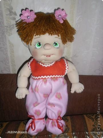 И снова-добрый день или вечер!! Кроме Маняши на этой неделе сделала ещё несколько кукол. Попробую выложить фото.Буду рада, если вам понравятся. фото 4
