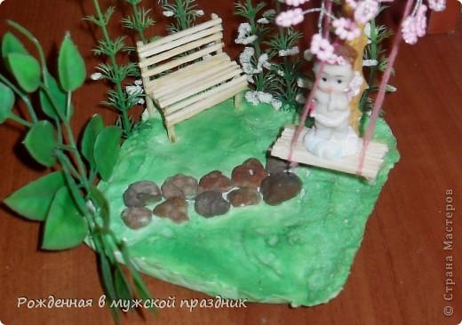 Такой вот садик для ангелочка у меня получился) фото 2
