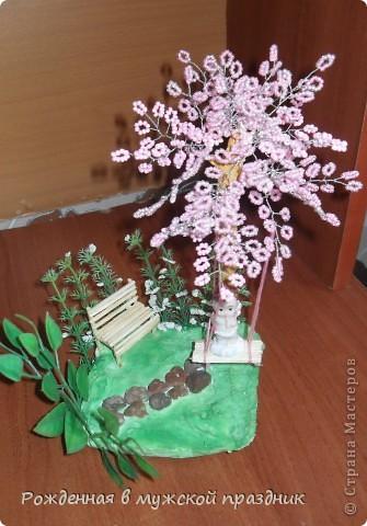 Такой вот садик для ангелочка у меня получился) фото 1
