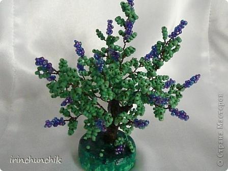Близится весна, вот и навеяло сделать маленькое деревце из цветущей сирени! фото 2