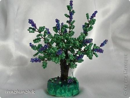 Близится весна, вот и навеяло сделать маленькое деревце из цветущей сирени! фото 3