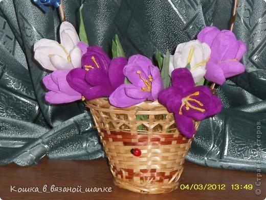 Поздравляю дорогих мастериц с наступающим праздником 8 марта!Желаю много цветов,улыбок и прекрасных работ! фото 3