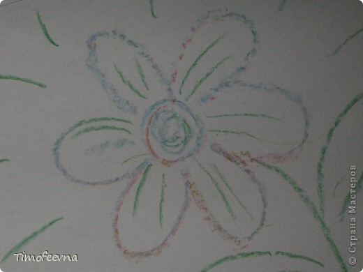 """Приветствую гостей своего блога!! Всем вам очень рада! На днях, попалась мне на глаза одна ссылочка - <a href=""""http://whimsy-girl.blogspot.com/2008/07/cool-chunky-crayons-tutorial.html"""">вот эта</a> - и я поняла, что мимо пройти просто не могу! И вот я вам показываю, чего натворила-наварила (вернее, наплавила), а именно, сделала радужный восковой мел! фото 17"""