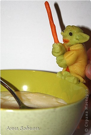 Продолжаю вкусную практику лепки марципановых фигурок на завтрак. фото 8