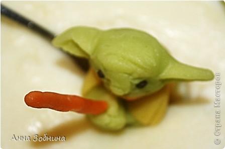 Продолжаю вкусную практику лепки марципановых фигурок на завтрак. фото 10