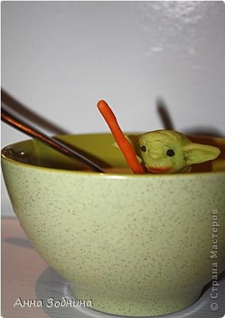 Продолжаю вкусную практику лепки марципановых фигурок на завтрак. фото 9