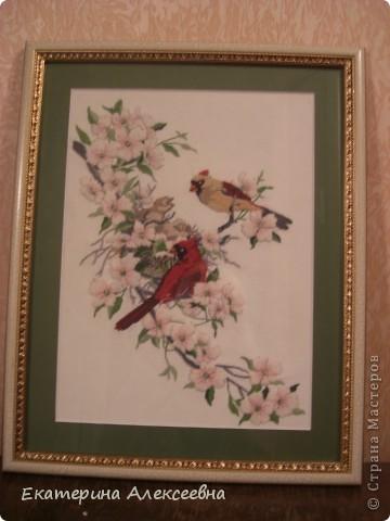 птички в японском стиле