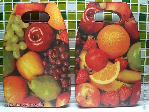 Разделочные доски задекорированы в технике декупаж. фото 1