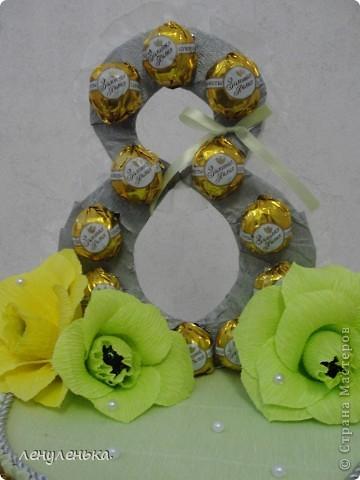 букет из конфет фото 3