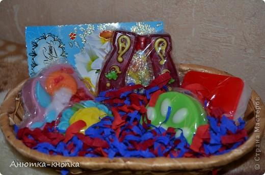 Корзиночки в подарок на 8 марта фото 2