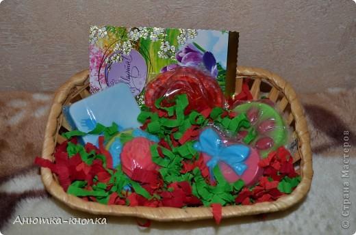 Корзиночки в подарок на 8 марта фото 3
