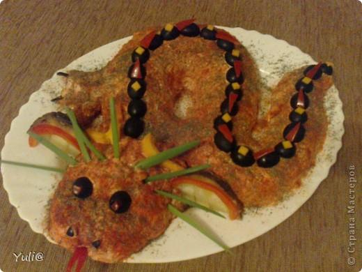 вот такой салатик был на нашем новогоднем столе фото 2