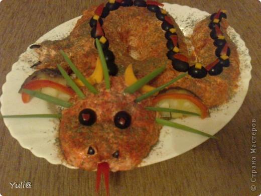 вот такой салатик был на нашем новогоднем столе фото 3