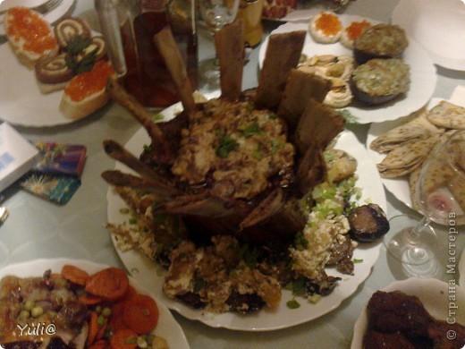 вот такой салатик был на нашем новогоднем столе фото 5