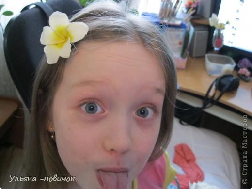 попросила меня знакомая сделать ей лилию, до этого она у меня никак не выходила, а в этот раз вроде ничего вышла фото 4