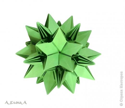 Здравствуйте, дорогие Мастера и Мастерицы!  У меня, как и у большинства из нас, наверное, задумывается одно, складывается другое, а что из сложенного созреет до показа, тоже загадка. Вот что созрело на этот раз. Name: Floristry (вариант 2) Designer: Natalia Romanenko Units: 30 Paper: 7.5*7.5 cm, бумага корейская Final height: ~ 12 cm Assembled with glue фото 8