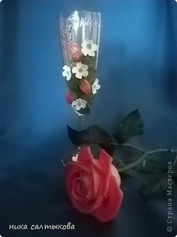 Приветствую тебя, Страна! Сваяла подарок на юбилей моей соседки Ирины  т.к. подарок был лично от меня и не было рамок, то  я не много пошалила)))   фото 1