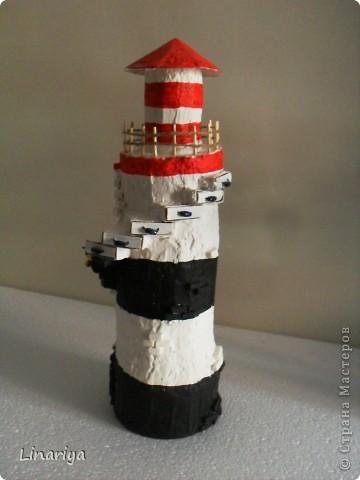 Как сделать маяк из картона