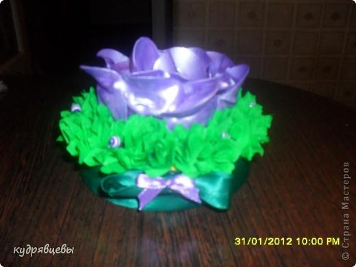 розы из пластмассовых,одноразовых роз. фото 1