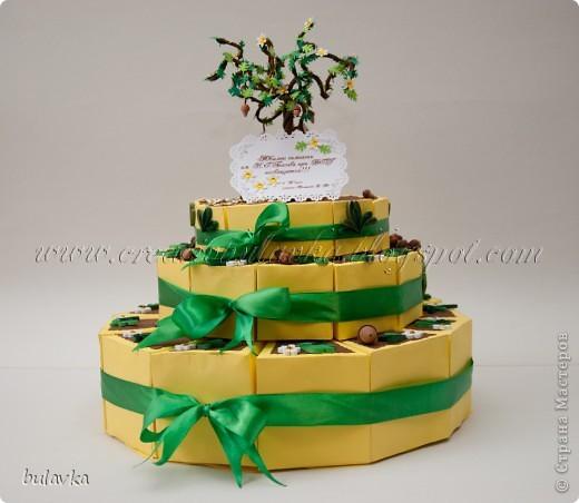 Юбилейный торт фото 1