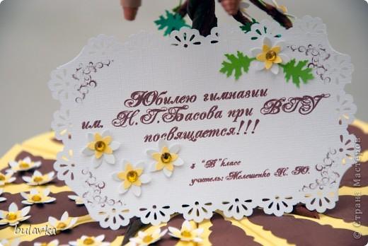 Юбилейный торт фото 5