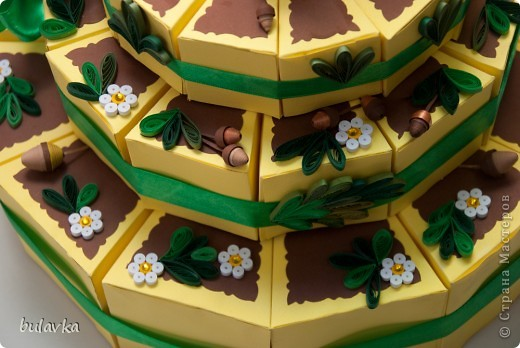 Юбилейный торт фото 4