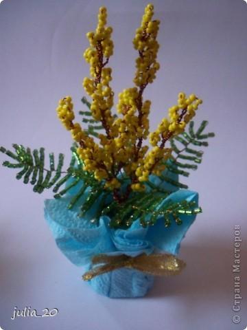 Цветочки к 8 Марта фото 3