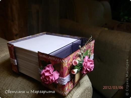 к тому моменту как создавалась эта фотография, один блок уже ушел в подарок - он будет представлен вашему вниманию последним фото 2