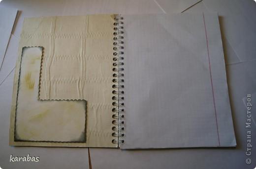Все блокноты покупные, на кольцах. Я их только декорировала. фото 11