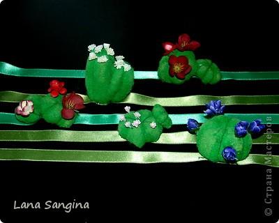 Материалы: синтепон, нитки, гуашь, ПВА, искусственные цветы.  Моей фантазии хватило на два вида кактусов: продолговатый и круглый. Начальные стадии изготовления отличаются, поэтому рассмотрим два варианта с общим финалом. фото 10