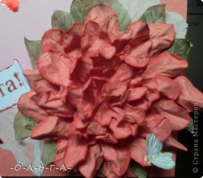 Здравствуйте! Несколько открыточек к 8 Марта! Делали с сыном быстро и с удовольствием :-)) фото 6
