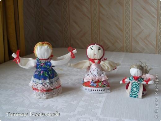 Кукла на счастье , по мк . мастериц с м фото 1