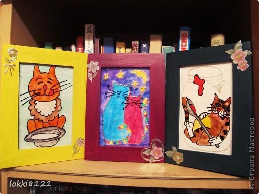 Таких вот котиков сделала подругам на 8 марта. Надеюсь, останутся довольны:) К сожалению, идея не моя. фото 1