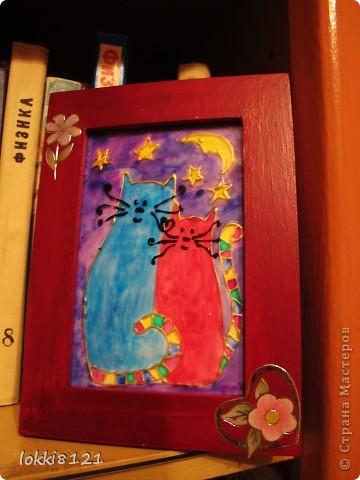 Таких вот котиков сделала подругам на 8 марта. Надеюсь, останутся довольны:) К сожалению, идея не моя. фото 3