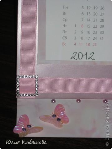 Настольный календарик, сделала для классного руководителя моей Даши, вернее сповторюшничала, уж очень мне нравятся такие штучки. Мне самой, то что получилось, ну очень нравится, не знаю конечно как вам, надеюсь на ваши отзывы. фото 3