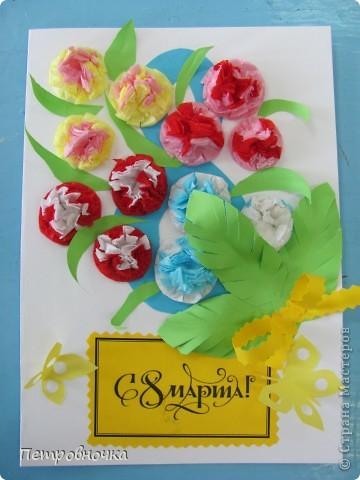 Дорогие мои Мастерицы! Поздравляю Вас всех с праздником Весны! Желаю счастья, здоровья, любви, творческого вдохновения и новых идей! фото 6