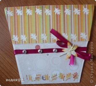 Доброго времени суток! А у меня продолжение открыточек.  В этих открыточках испо,льзовала цветы сделанные по МК https://stranamasterov.ru/node/321021?c=favorite  Светланы Б. За Мк ей огромное спасибо!!! фото 7