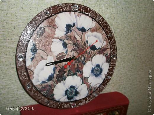 Здравствуйте дорогие жители Страны мастеров. Хочу показать вам мои очередные часы, сделаные на день рождения приятельнице. фото 3
