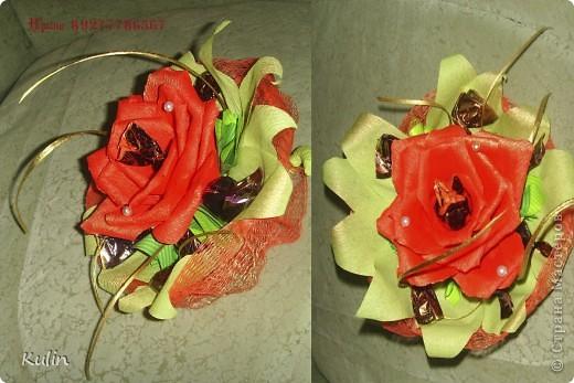 """вот осваиваю """"новые горизонты"""" странно, но как то сразу розы закрутились правильно :) фото 5"""